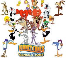 Looney Tunes Generations by zigaudrey