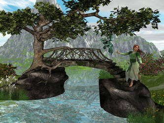 Crossing A Bridge by Wickedwitch19