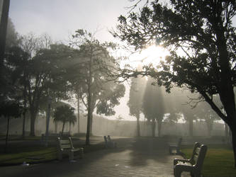 Foggy Square 3 by juliozzy