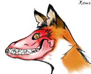 Skull Fox by Xissorhands