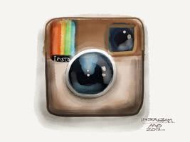 Instagram App Icon by digitalchet
