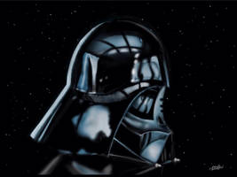 Darth Vader Reflects by digitalchet