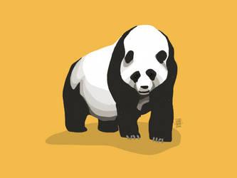 Giant Panda by digitalchet