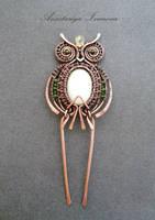 hairpin-owl by nastya-iv83