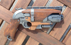 NERF Hammershot Custom Woodhandle by ClifHeckman