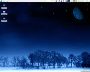 current desktop by oxygenius