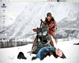 Desktop as of decembre 2009 by oxygenius