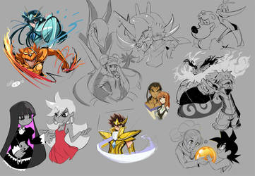 Some-fanarts by sho-N-D