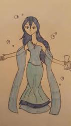 Elemental OC: Atlantia Lycoris by EternalNexusWarrior