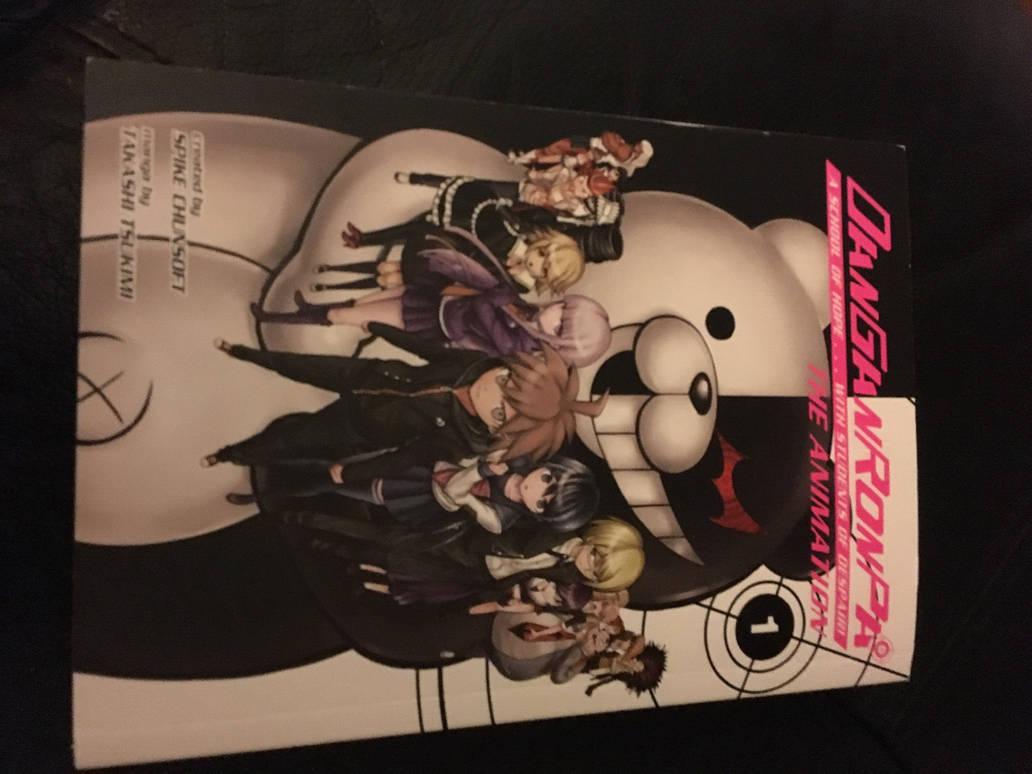 Danganronpa comic book (chap 1) by VenomROBLOX