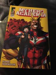 My Hero Achdemia comic (chap 1) by VenomROBLOX
