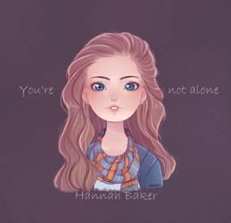 Hannah Baker by insanikei