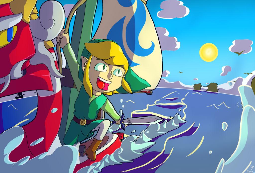 Off into the Great Sea! by Garrett-Y