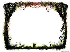 Grunge Fantasy Border by Marylise