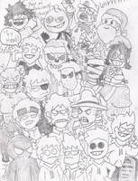 Large group sketch by eddsworld