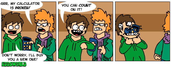 EWcomics No.23 - Calculator by eddsworld
