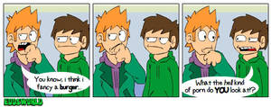 EWcomicsNo. 61 - Burger by eddsworld