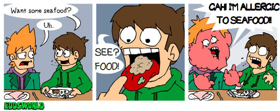 EWcomics No.68 - Seafood by eddsworld