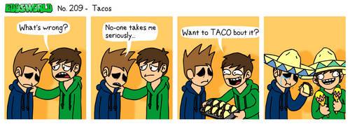 EWCOMIC No. 209 - Tacos by eddsworld