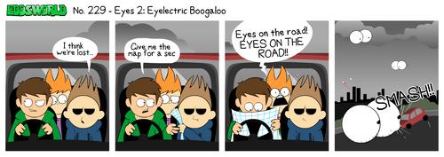 EWCOMIC No. 229 - Eyes 2 by eddsworld