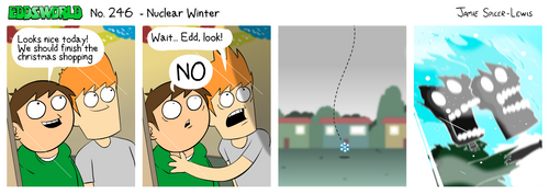 EWCOMIC No. 246 - Nuclear Winter by eddsworld