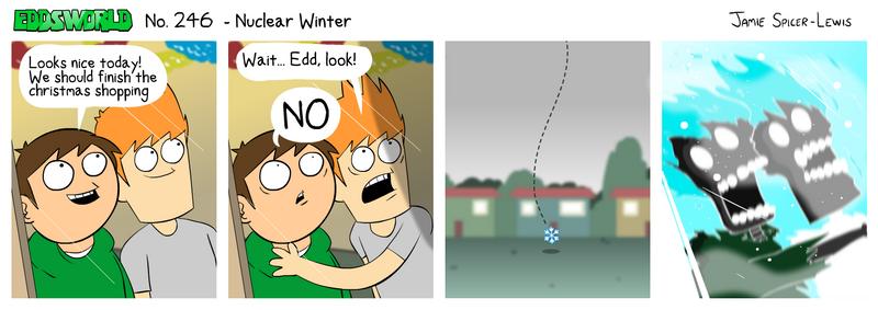 EWCOMIC No. 246 - Nuclear Winter by eddsworld