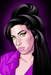 Amy Winehouse by Rolsey
