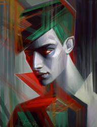 Fashion art by Olga-Tereshenko