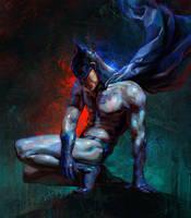 Batman by Olga-Tereshenko