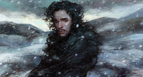 Jon Snow by Olga-Tereshenko