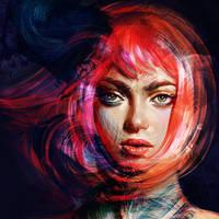 Portrait by Olga-Tereshenko