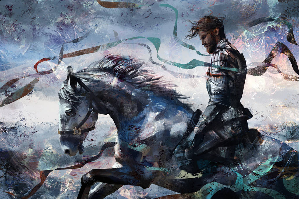 Knight by Olga-Tereshenko