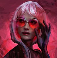 Pink by Olga-Tereshenko