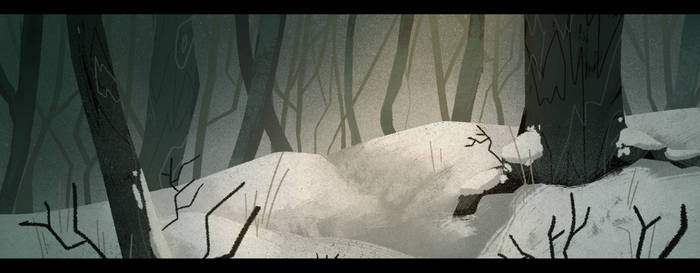 Frost Forest by lostSHAD3