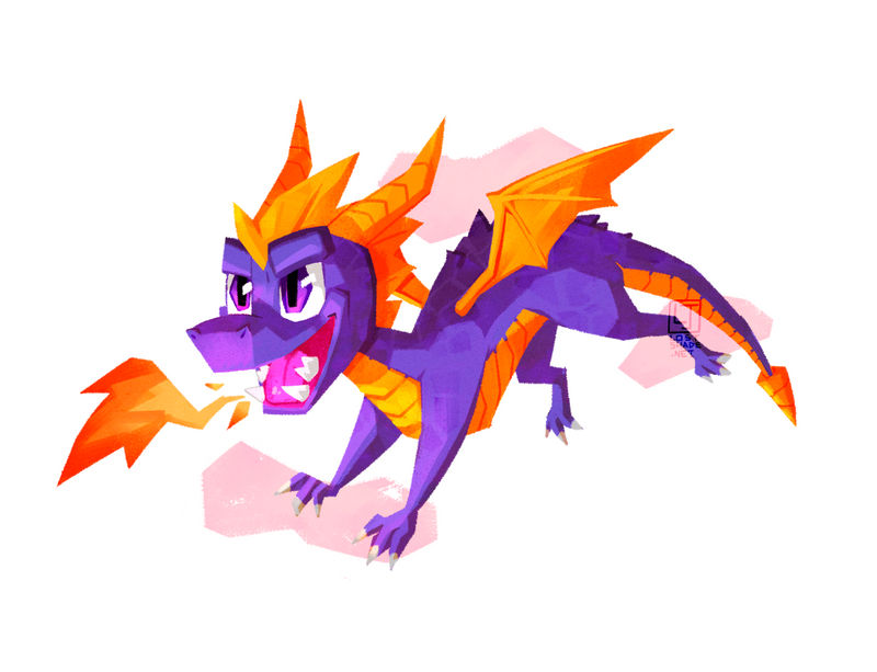 Spyro by lostSHAD3