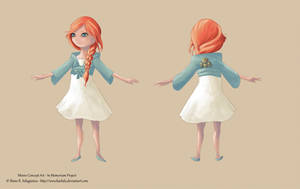 IM development - Minne Concept Art by Oreiria