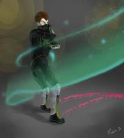 Commission: Lyric, sound hero by Oreiria