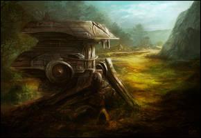Old Mech by JPlatt17