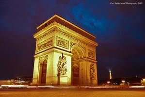 Arc De Triomphe by Rovanite