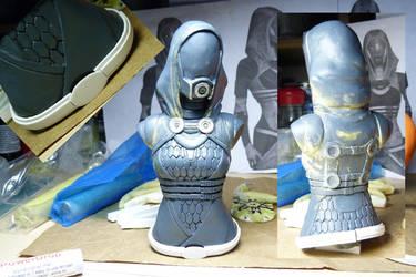 Tali Sculpt WIP by Rovanite