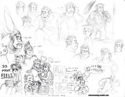 Even more Wreck-It Ralph fan-doodles by nonsensology