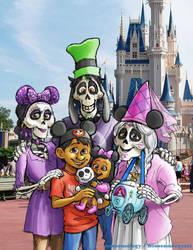 Rivera Family Disney Vacation by nonsensology