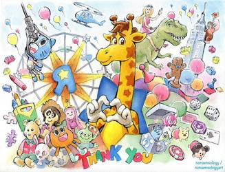 Once a Toys R Us kid, always a Toys R US kid by nonsensology