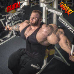 Iain Valliere Destroys Pec Machine by dhandler19