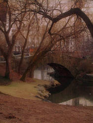 Landscape in Central Park II by annegelus