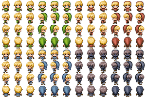 RPG Maker MV - Link Spritesheet by SmellyKittyLitter