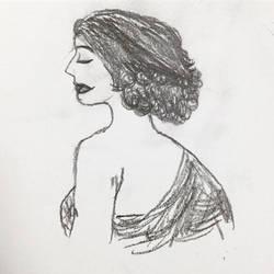 Mujer Rizado by Lirio-Wolf19