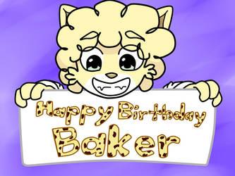 Happy Birthday Baker 2018 by Bi0Hero