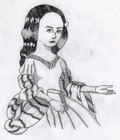 Sor Juana anime by Bleinz