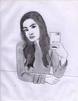 Miranda Selfie by Bleinz